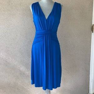 Boston Proper Blue Dress   Casual & Stretchy   Sm